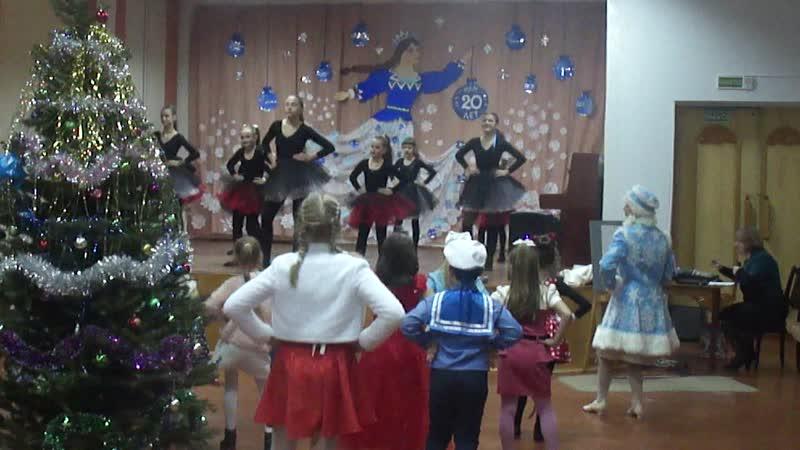 ИГРА Все танцуют Чику-Рику - ведьмочки 3 и 7 класса