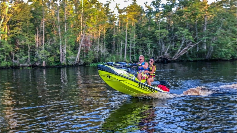 First Time Testing Out Riva Racing Stage ONE Kit on 2018 Sea Doo RXT X 300