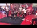 Чемпионат Московской области WRPF жим лежа 145 кг (второй подход)