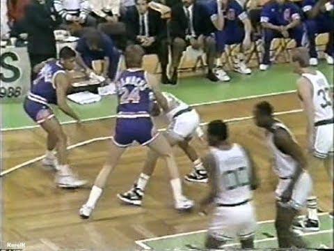 198990 (January 28) Phoenix Suns @ Boston Celtics - Tom Chambers 40 Points