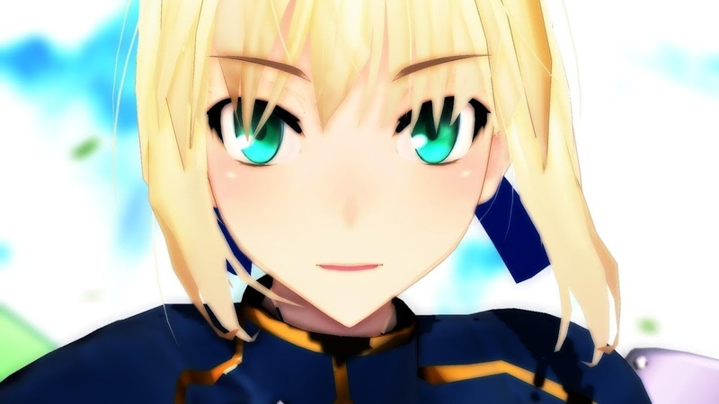 【Fate/MMD】鎧アルトリア / Makes You a Fighter