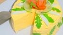 Закусочный Морковный Чизкейк с Лососем. Без выпечки.