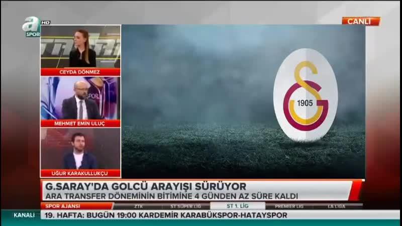 Galatasaray Transfer Gündemi Uğur Karakullukçu Yorumları Spor Ajansı 28 Ocak