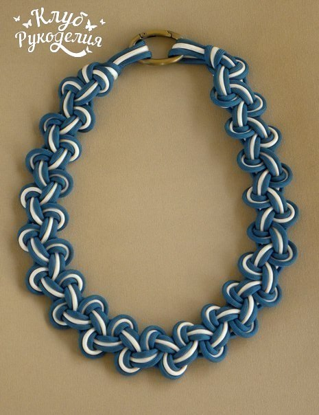 Красивое ожерелье своими руками (6 фото) - картинка