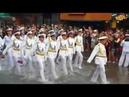 Моряки России vs Моряки США Выступление на параде ТАЙЛАНД