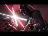 Ahsoka Tano Against Darth Vader 1080p