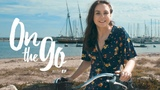 Angelina bikes along Santa Barbara's beaches On the go with EF #63