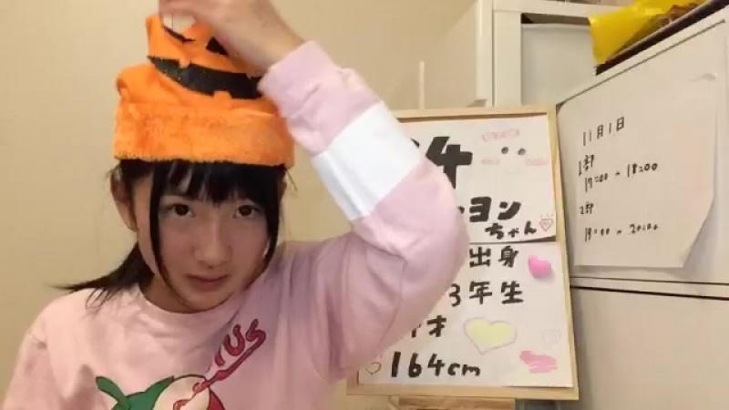 20171101 1704 @ SHOWROOM 3rd Draft Entry No.094 (Nakano Mirai)