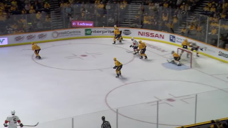 James Reimer doubles back to save an own-goal
