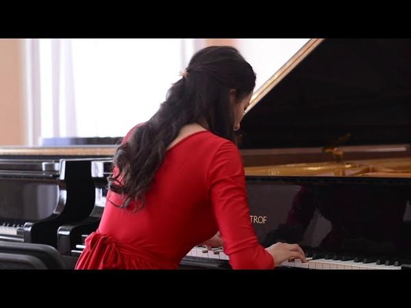 Лейсан Казакбаева - Концерт фортепианной музыки