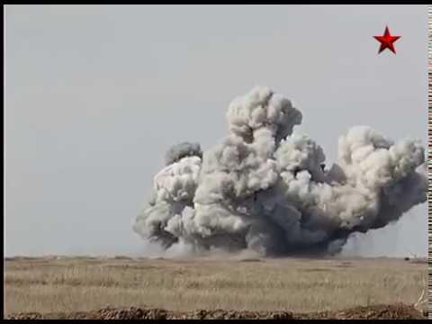 Heavy firing system TOS 1A Solntsepek