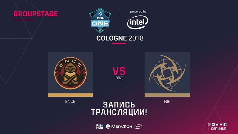 ENCE vs NiP - ESL One Cologne 2018 - map1 - de_inferno [Enkanis, CrystalMay]