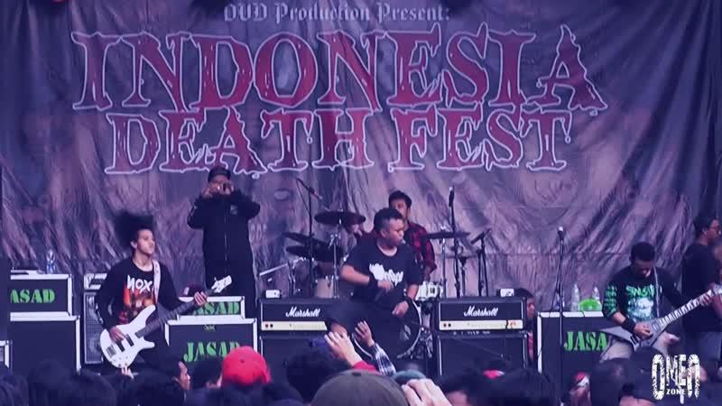 SINUSITIS Live At Indonesia Deathfest 2017 afonya drug