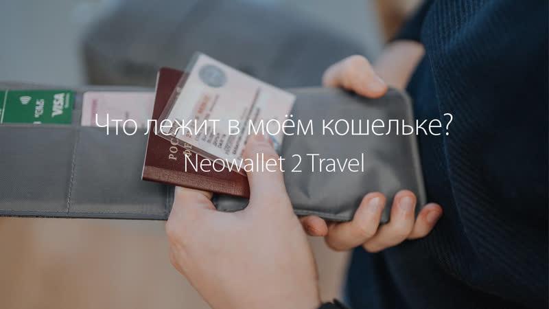 Что лежит в моём кошельке для путешествий Neowallet 2 Travel