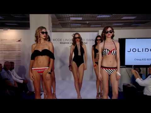 Видео показ купальников Jolidon CPM сентябрь 2017