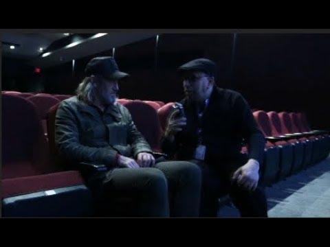 Le vidéo journaliste Akim Kermiche interviewe l'acteur Roy Dupuis - RIDM 2018