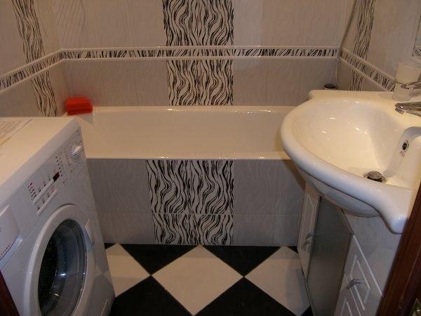 Ремонт ванны и туалета недорого своими руками 614