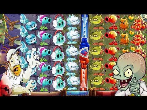 Plants vs Zombies 2 BattleZ: Team ICE Pvz 2 Vs Team FIRE Pvz 2: Gameplay 201