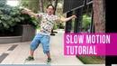SLOW MOTION TUTOTIAL: 5 LEVELS OF THE DANCE SKILLS | popping dance | robot dance