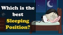 Which is the best Sleeping Position aumsum kids education