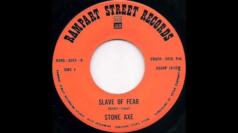 Stone Axe - Slave Of Fear / Snakebite