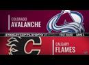Colorado Avalanche vs Calgary Flames _ Apr.19, 2019 _ Game 5 _ Stanley Cup 2019