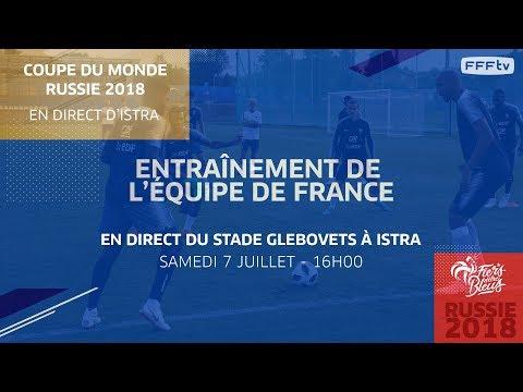 Le replay de l'entraînement des Bleus (samedi 7 juillet) I FFF 2018