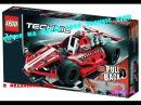 Lego Technic 42011 Race Car .Обзор от Geka.