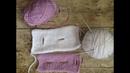 Петли для пуговиц вязанные спицами (вертикальные и горизонтальные)