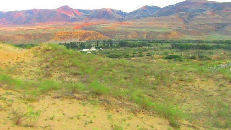 Бархан Сарыкум второй в мире по величине Дагестан