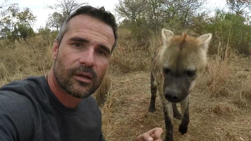 Hyena Crushes Bone | The Lion Whisperer