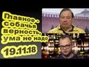 Геннадий Гудков, Сергей Ежов - Главное собачья верность, ума не надо 19.11.18
