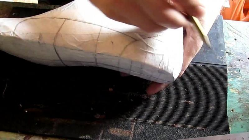 Егор Букраев Д-02. Дерби - рисуем модель на колодке. Как сшить туфли.