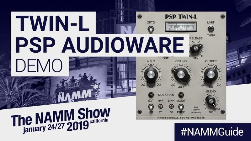 Twin-L Hertzrider by PSP Audiowares   NAMM Show 2019