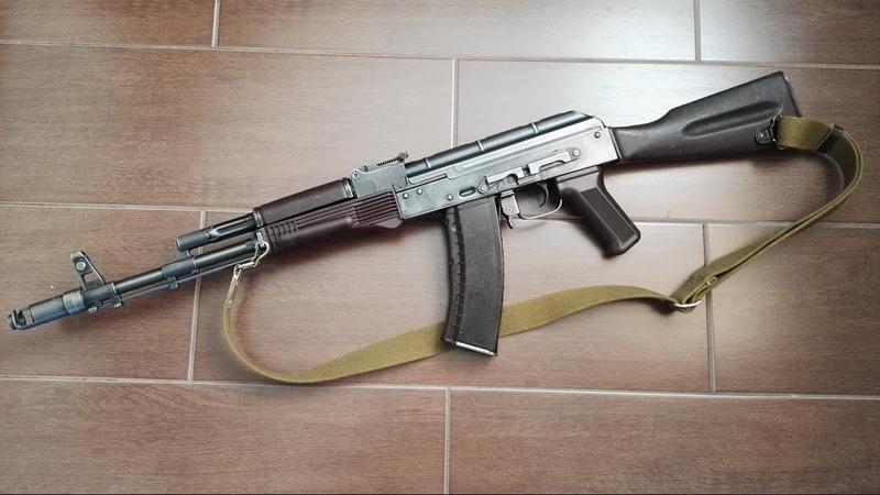 [SLOVENSKY] Moja vlastnorucne upravena EL AK74 Marec 2017