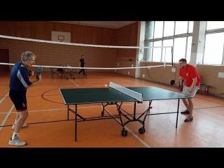 Настольный теннис, личное первенство 8.10.18 ч.1