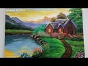 Beautiful Scenery Painting | Acrylic Painting | Drawing