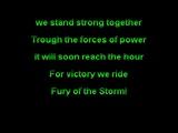Dragonforce - Fury of the Storm (Funbox Karaoke)