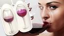 🍷 Бокал Вина с Объёмным Стеклом 🍷 Fasion Дизайн Ногтей Гель лаком к Праздничному Маникюру Пошагово