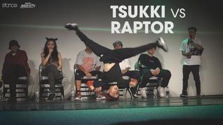 TSUKKI (age 12) vs RAPTOR (age 11) // Taipei Bboy City 2018