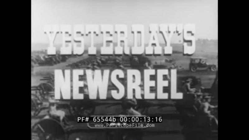 YESTERDAYS NEWSREEL GRAF ZEPPELIN WORLD FLIGHT IMPERIAL THEATER 1920 KENTUCKY DERBY 65544b