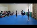Акробатика открытый урок 19.05.2018г.