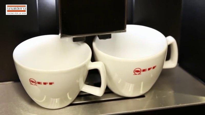 Встраиваемые кофе машины Neff