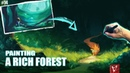Painting a Rich Forest! (How I've Improved!)