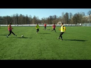 Тренировка ФК Арарат (Москва) 09.04.2018