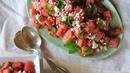 Салат из арбуза и феты от Гордона Рамзи