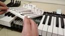 Техническое обслуживания клавиатуры электронного пианино Yamaha P 105