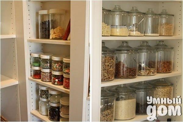 Как навести порядок на кухне: чисто, аккуратно и красиво Какой бы большой ни была кухня, сколько бы шкафчиков и тумбочек в ней ни было, места всегда не хватает. Найти нужную вещь практически невозможно, приходится перерывать и перекладывать всё с места на место. Чтобы облегчить жизнь и навести на кухне порядок, существует несколько способов, которыми и предлагаем воспользоваться. Беспорядок на кухне равносилен ночному кошмару. Чтобы избавиться от него, нужно максимально эффективно использовать…