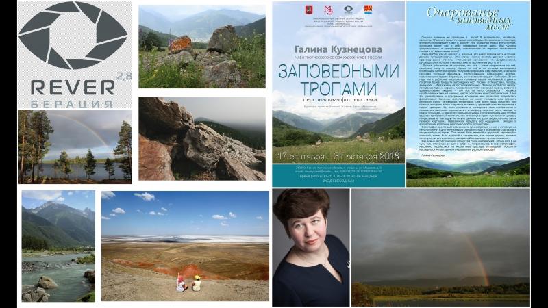 Персональная выставка Галины Кузнецовой Заповедными тропами