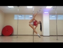 Angelina Usmanova Super sexy pole dance part 1 720p